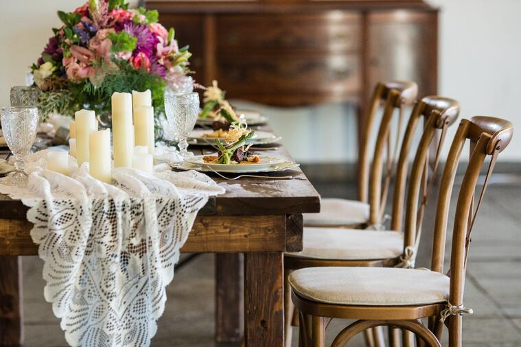 rustic wedding tower hill